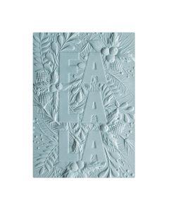 Sizzix 3-D Textured Impressions Embossing Folder - Fa La La