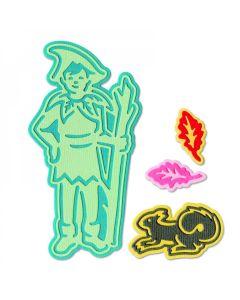 Fairy #4 Thinlits Dies - Jorli Perine - Sizzix