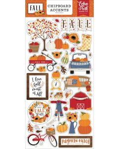 Fall Chipboard Accents - Echo Park