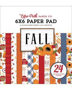 "Fall 6"" x 6"" Paper Pad - Echo Park"