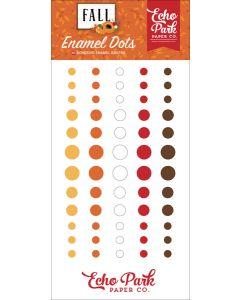 Fall Enamel Dots - Echo Park