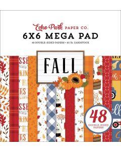 "Fall Cardmakers 6"" x 6"" Mega Pad - Echo Park"