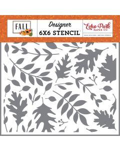 Autumn Time Stencil - Fall - Echo Park