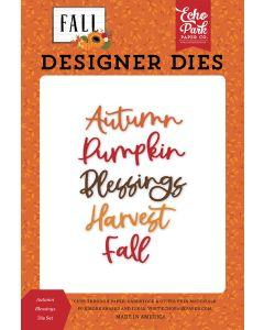 Autumn Blessings Dies - Fall - Echo Park
