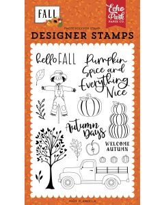 Welcome Autumn Stamps - Fall - Echo Park