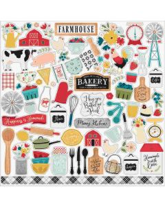 Farmhouse Kitchen Element Stickers - Echo Park*