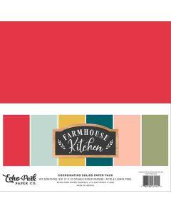 Farmhouse Kitchen Solids Kit - Echo Park*