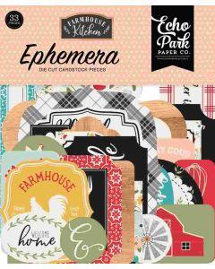 Farmhouse Kitchen Ephemera - Echo Park*