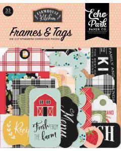 Farmhouse Kitchen Frames & Tags - Echo Park*
