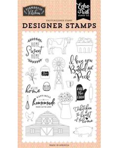 Heart of the Home Stamp Set - Farmhouse Kitchen - Echo Park*