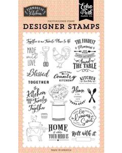 Made with Love Stamp Set - Farmhouse Kitchen - Echo Park*