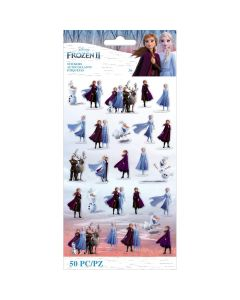 Frozen II Flat Tiny Characters Stickers - Disney- EK