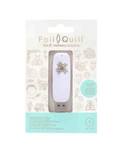 Floral Designs USB Artwork Drive - Foil Quill - We R Memory Keepers