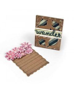 Flower & Leaves Journaling Card dies