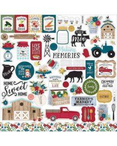 Farmer's Market Element Stickers - Echo Park*
