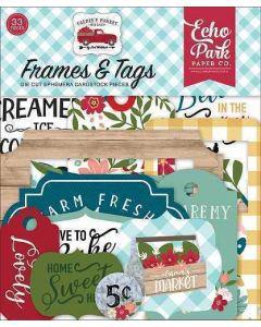 Farmer's Market Frames & Tags - Echo Park*