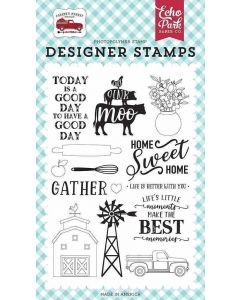 Home Sweet Home Stamps - Farmer's Market - Echo Park*