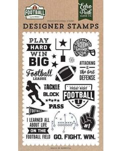 Tackle Stamps - Football - Echo Park