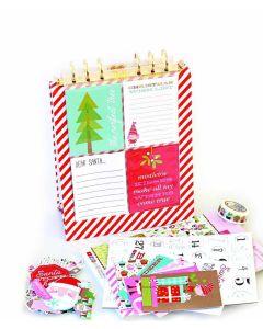 Santa Stops Here Freestanding Album Kit - Bella Blvd - Clearance