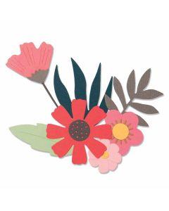 Free Style Florals Thinlits Dies - Sophie Guilar - Sizzix