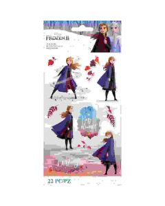 Frozen II Anna Stickers - Disney - EK