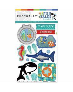 Fish Tales Chipboard Shapes
