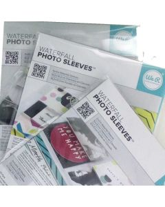 We R FUSE Waterfall Photo Sleeve Bundle components