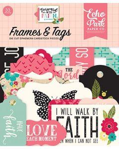 Forward With Faith Frames & Tags - Echo Park