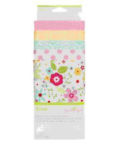 Cricut Maker Garden Girl Fabric Sampeler