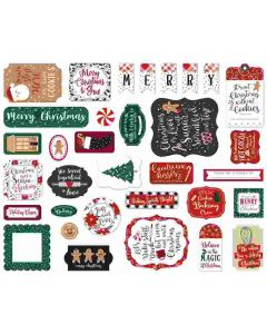 A Gingerbread Christmas Ephemera - Echo Park