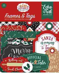 A Gingerbread Christmas Frames & Tags - Echo Park