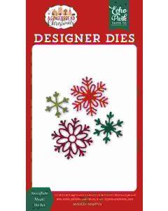 Snowflake Magic Dies - A Gingerbread Christmas - Echo Park