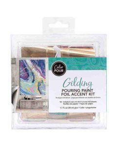 Color Pour Foil Finishing touches kit