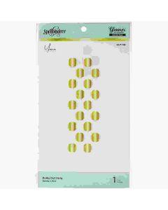 Polka Dot Strip Glimmer Hot Foil Plates - the Foiled Basics collection - Yana Smakula - Spellbinders*