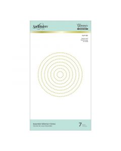 Circles Essential Glimmer Hot Foil Plates - Modern Essentials - Spellbinders