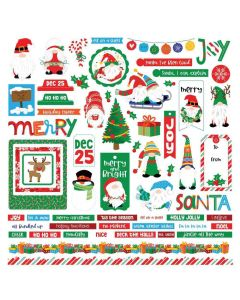 Gnome for Christmas Element Stickers - PhotoPlay*
