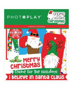 Gnome for Christmas Ephemera - PhotoPlay*