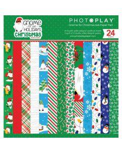 "Gnome for Christmas 6"" x 6"" Pad - PhotoPlay*"