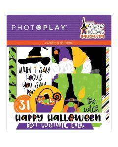 Gnome for Halloween Ephemera - PhotoPlay*