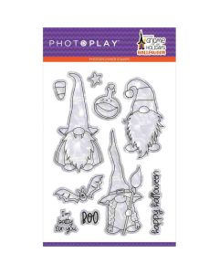 """Gnome for Halloween 4"""" x 6"""" Stamps - PhotoPlay*"""