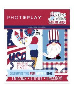 Gnome for July 4th Ephemera - PhotoPlay*
