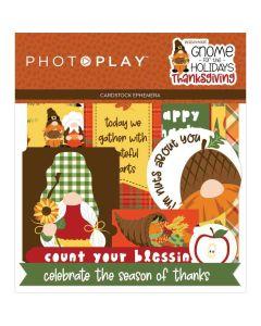 Gnome for Thanksgiving Ephemera - PhotoPlay*