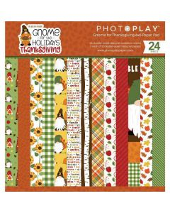 """Gnome for Thanksgiving 6"""" x 6"""" Pad - PhotoPlay*"""