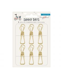 Maggie Holmes Gold Clips - Sunny Days