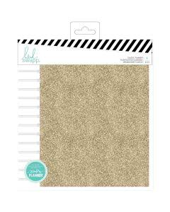 Heidi Swapp Memory Planner Gold Glitter Color Fresh Planner