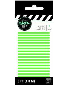 Heidi Swapp Green Neon lights