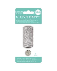 Grey Bakers Twine Stitch Happy Packaging