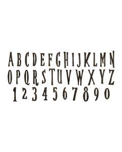 Handmade Bigz XL Alphabet Die - Tim Holtz - Sizzix