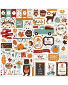Happy Fall Element Stickers - Echo Park
