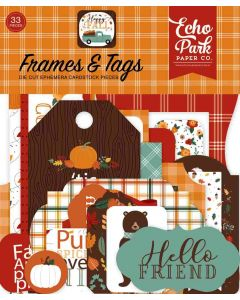 Happy Fall Frames & Tags - Echo Park